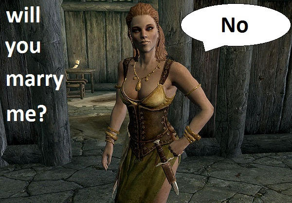 Marry in the best skyrim woman to Skyrim: 20